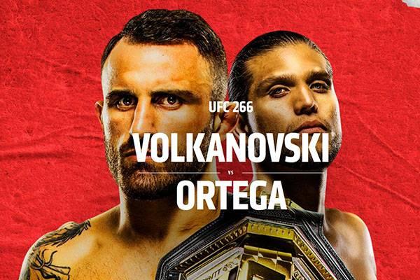 Ponturi UFC Volkanovski vs Ortega 26-09-2021